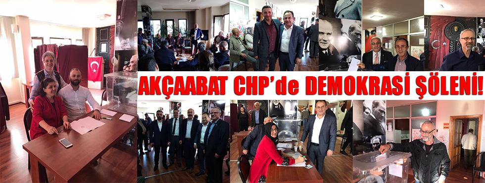 Akçaabat CHP'de Demokrasi Şöleni!