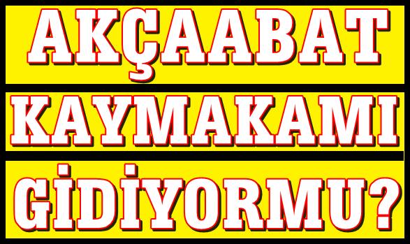 Trabzon'da Hangi Kaymakamlar Gidiyor