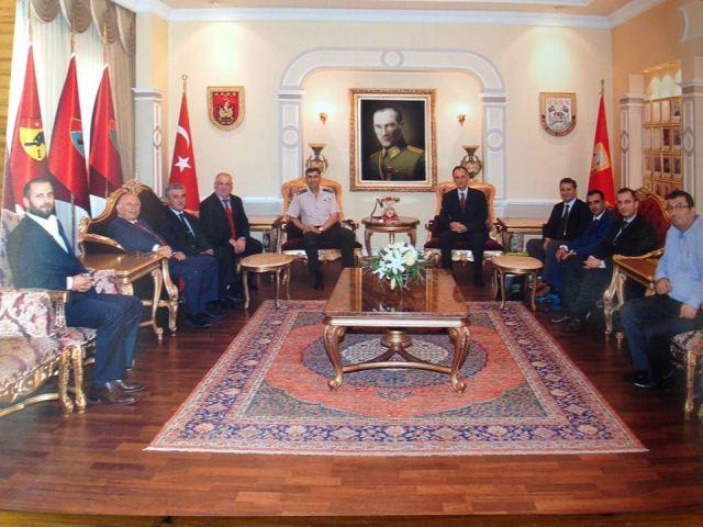 Başkandan Paşaya Ziyaret