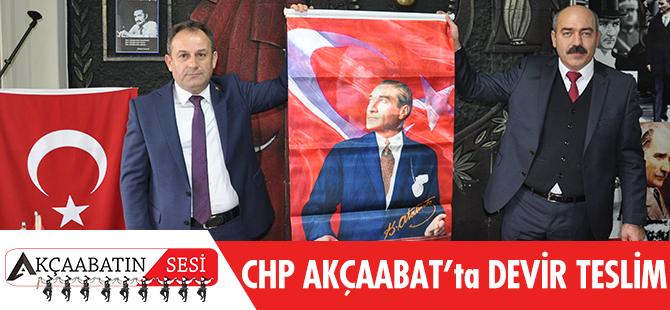CHP Akçaabat'ta Devir Teslim..