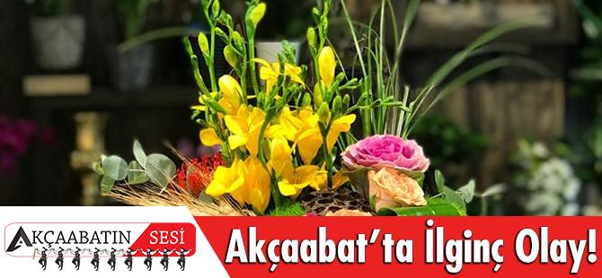 Akçaabat'ta Çiçek Siparişini Teslim Etmek İçin Aradı Hakarete Uğradı.