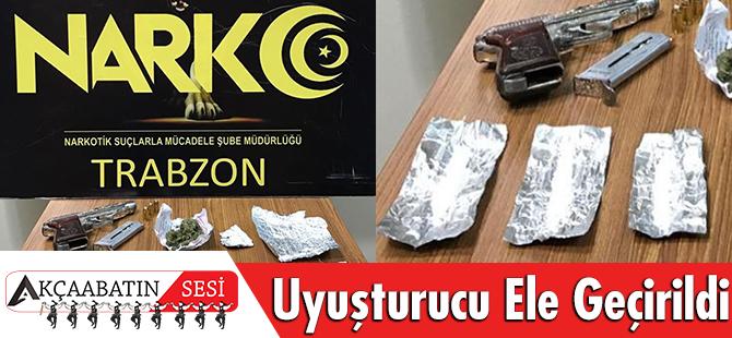 Trabzon Emniyet Müdürlüğü Uyuşturucuyla Mücadele Çalışmalarında;
