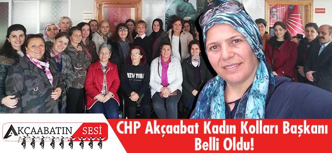 CHP Akçaabat Kadın Kolları Yeni Başkanı Belli Oldu