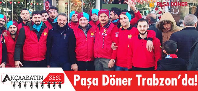 Trabzonlular da Paşa Döner'le Tanıştı