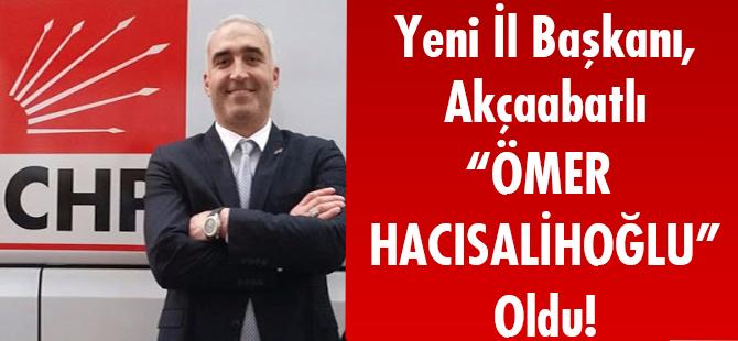 Yeni İl Başkanı Akçaabatlı Ömer Hacısalihoğlu Oldu!