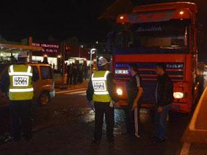 Trabzon Tırında Bomba İddiası