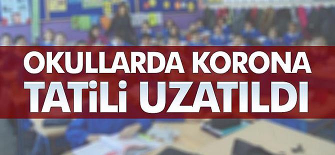 Okullar 30 Nisan'a Kadar Tatil Edildi