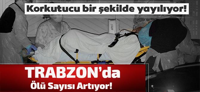 Trabzon'da Koronavirüsten Ölenlerin Sayısı Artıyor!