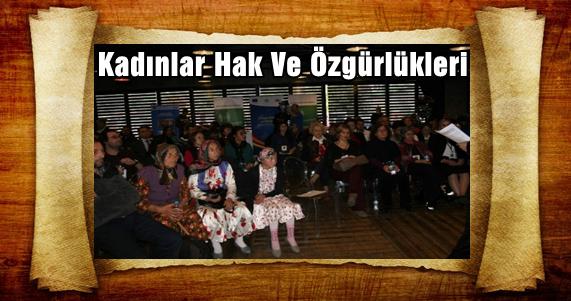 Trabzon'da Kadınlar Hak Ve Özgürlüklerini Tartışıyor