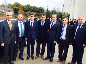 Trabzon'dan da katılım oldu.