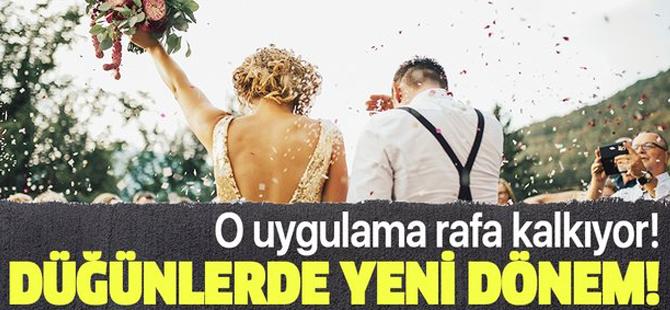 İçişleri Bakanlığı'ndan Düğün Ve Nikah Genelgesi! 81 İl Valiliğine Gönderildi