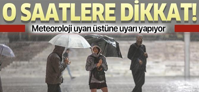Trabzon İçin Sağanak Yağmur Uyarısı
