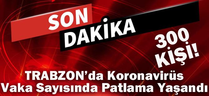 Trabzon'da Koronavirüs Vaka Sayısında Patlama Yaşandı!