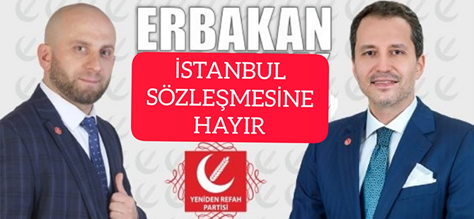 Barış Sandıkçı: Yapılacak En Hayırlı İş İstanbul Sözleşmesinden Çıkmaktır!