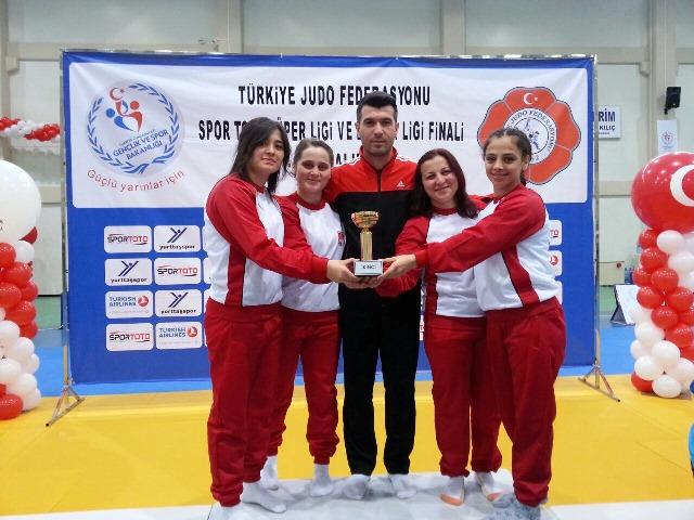 Bayan Judo Takımımız 1.Ligde