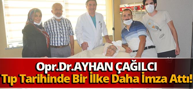 Trabzonlu 32 Yıllık Cerrah, Op. Dr. Ayhan Çağılcı, Bir İlke Daha İmza Attı.