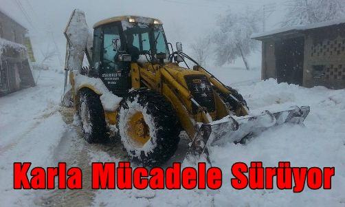 Kar Timi Çalışıyor