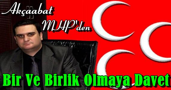 MHP Çatısı Altında Birlik Olalım