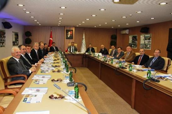 Yönetim Kurulu Toplantısı Trabzon'da Yapıldı