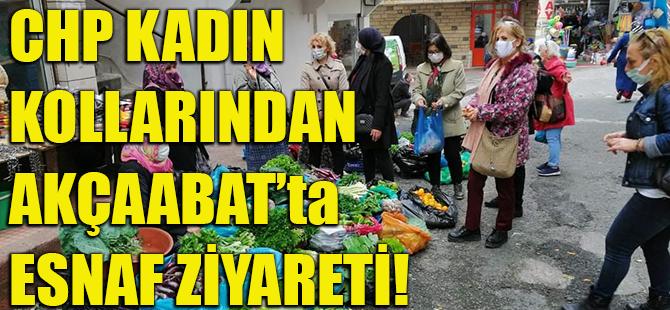 CHP Kadın Kollarından Akçaabat'ta Esnaf Ziyareti!