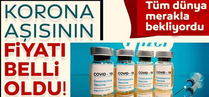 Pfizer Ve Biontech'in Covid-19 Aşısının Fiyatı Belli Oldu