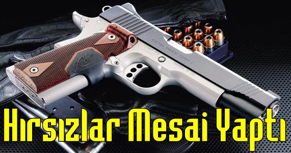 Bu Sefer Hırsızlar Akçaabat'ta Silah Çaldı