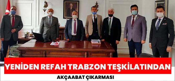Yeniden Refah Trabzon Teşkilatından Akçaabat Çıkarması