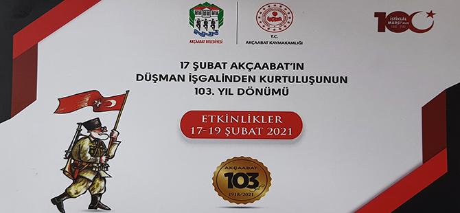 Akçaabat'ın Düşman İşgalinden Kurutuluşunun 103.Yıl Dönümü Kutlama Programı