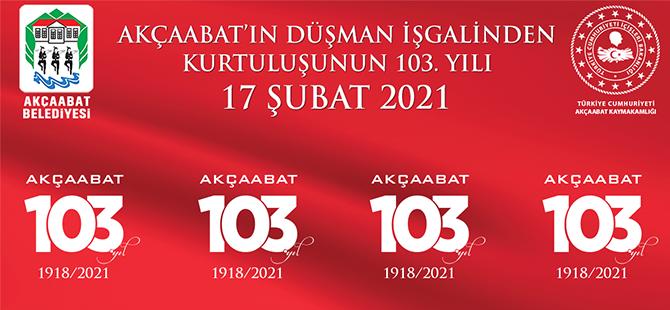 Akçaabat 103. Yıla Hazır