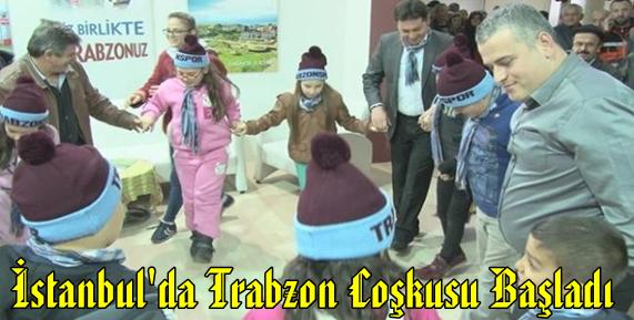 İstanbul'da Trabzon Tanıtım Günleri Başladı.