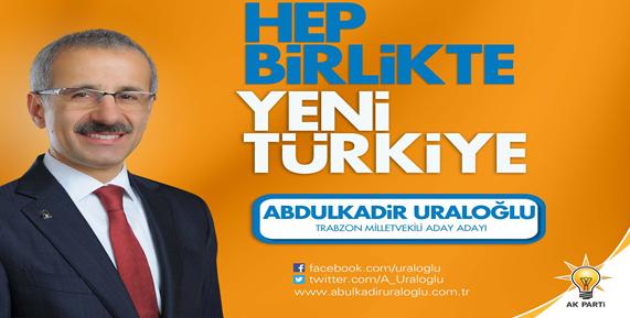 Abdulkadir Uraloğlu Teşekkür Mesajı Yayınladı