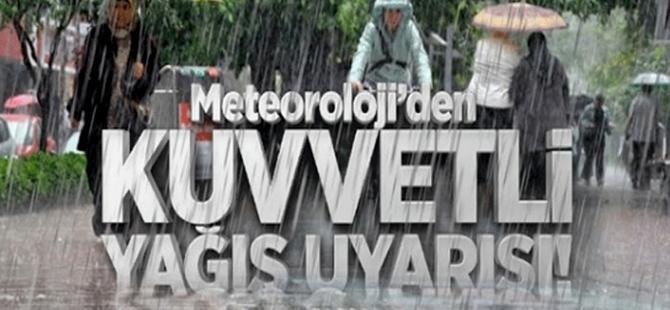 Meteoroloji Doğu Karadeniz İçin Kuvvetli Yağış Uyarısı Yaptı