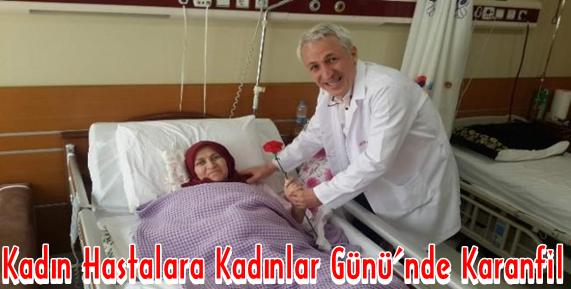 Medical Park Trabzon Hastanesi 8 Mart Dünya Kadınlar Günü'nde Kadınları Unutmadı.