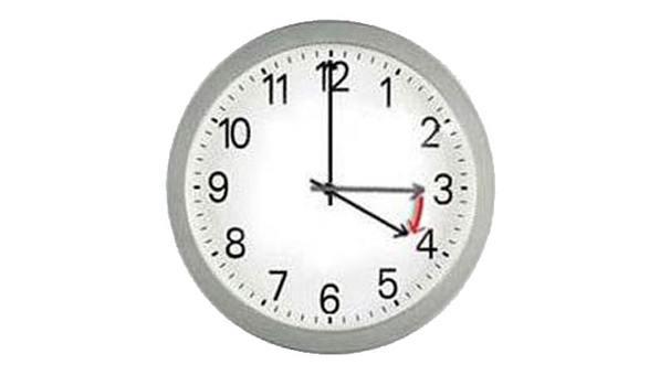 Saatler İleri Alınıyor