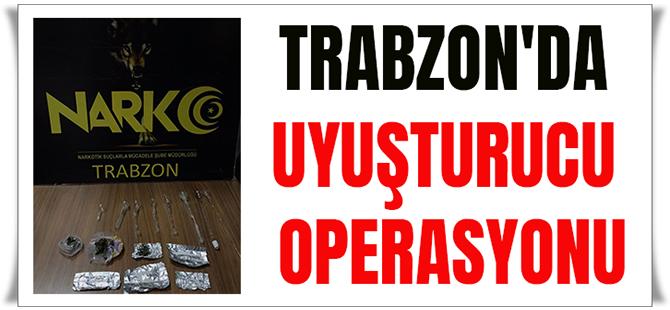 Trabzon'da Uyuşturucu Operasyonu! 2 Şüpheli Yakalandı