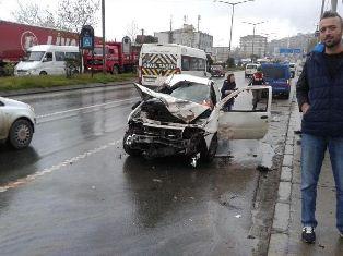 Trabzon'da Trafik Kazası Meydana Geldi