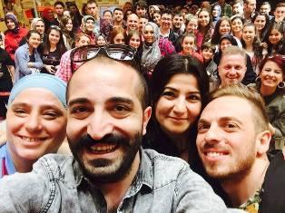 Sebahat ve Melahat Trabzon'da Sinema Severlerle buluşursa…