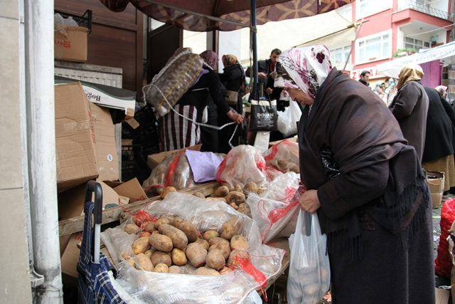 Patates Akçaabat Pazarının Kralı