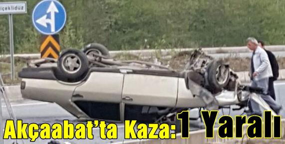 Sürücü Direksiyon Hakimiyetini Kaybetti Ve..