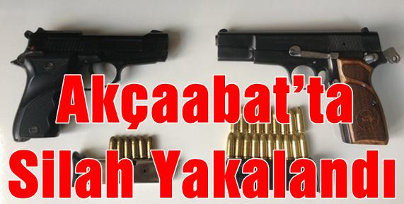 Silahlara Ve Mermilere El Konuldu