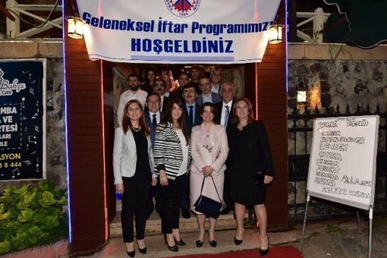 Trabzon Ttso'nun Geleneksel İftar Yemeğinde Buluştu
