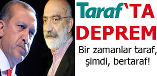 Taraf Gazetesinde İstifa