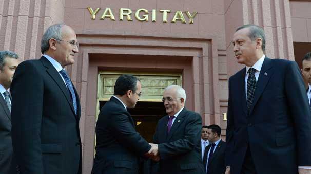 Erdoğan ' dan Yargıtay 'a Ziyaret