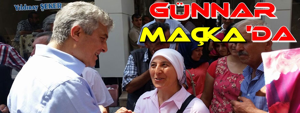 Milletvekili Adnan Günnar Maçka'da Vatandaşlarla Bol Bol Sohbet Etti