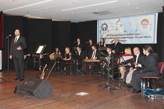 KTÜ Devlet  Konservatuarı ' ndan Muhteşem Konser