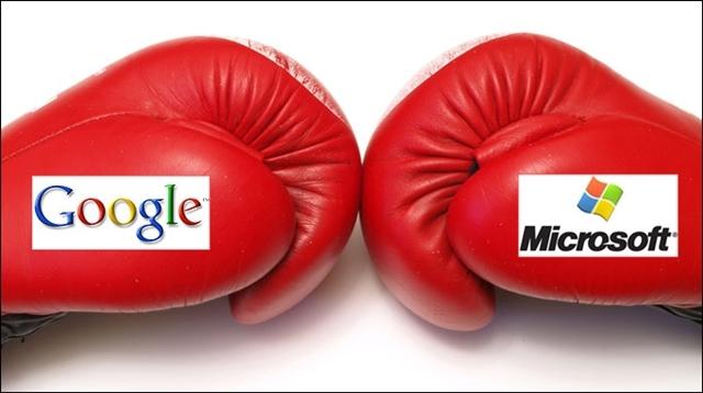 Microsoft Google'ı Komik Buluyor