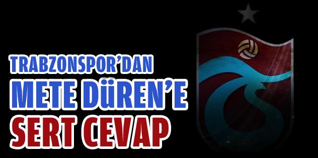 Trabzonspor İnternet Sitesinden Kınama