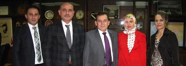Umut Ve Savaşım Derneği Suat Hacısalihoğlu'nu Ziyaret Ettiler