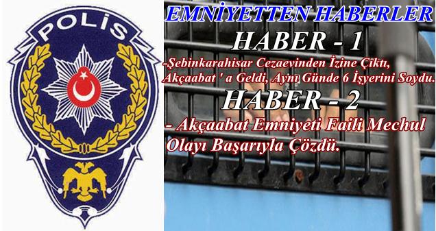 Akçaabat Polisi, Akçaabat ' ın Huzurunu Bozanlara Göz Açtırmıyor
