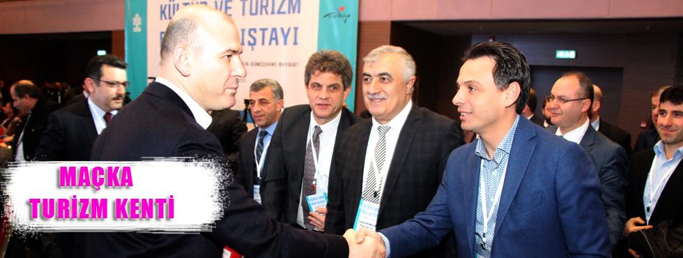 Türkiye'nin 10 Turizm Kentinden Biri Maçka!